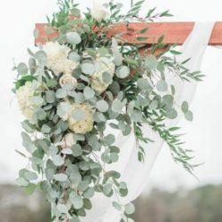 décoration mariage - arche d'entrée