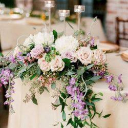 Décoration mariage plan de table